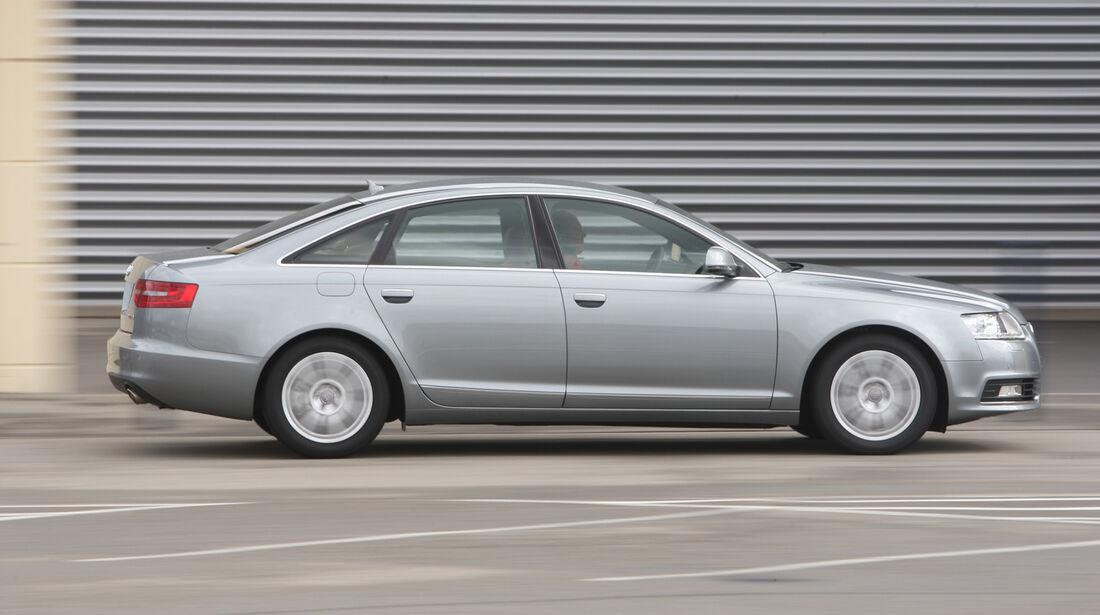 Audi A6, Seitenansicht