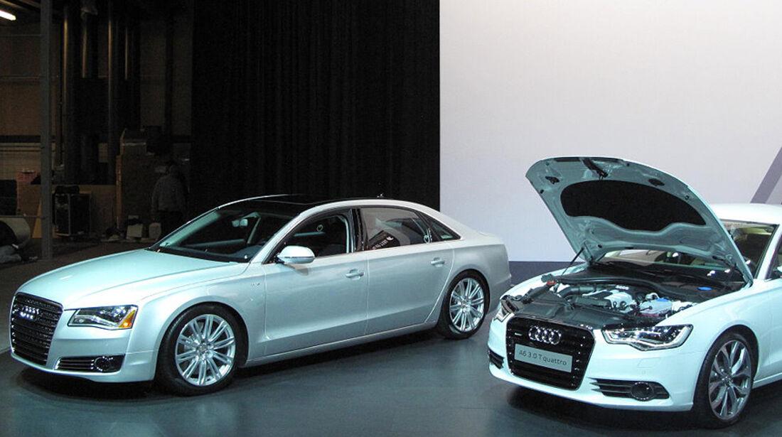 Audi A6 und Audi A8