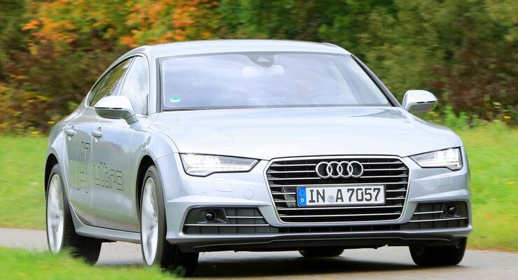 Audi A7 Sportback 3.0 TDI Ultra, Frontansicht