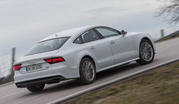 Audi A7 Sportback 3.0 TFSI Quattro, Heckansicht