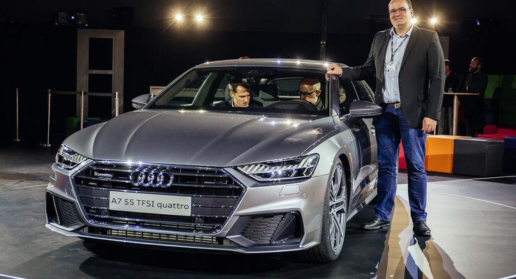 Audi A7 Sportback 2018 Infos Daten Marktstart Preis