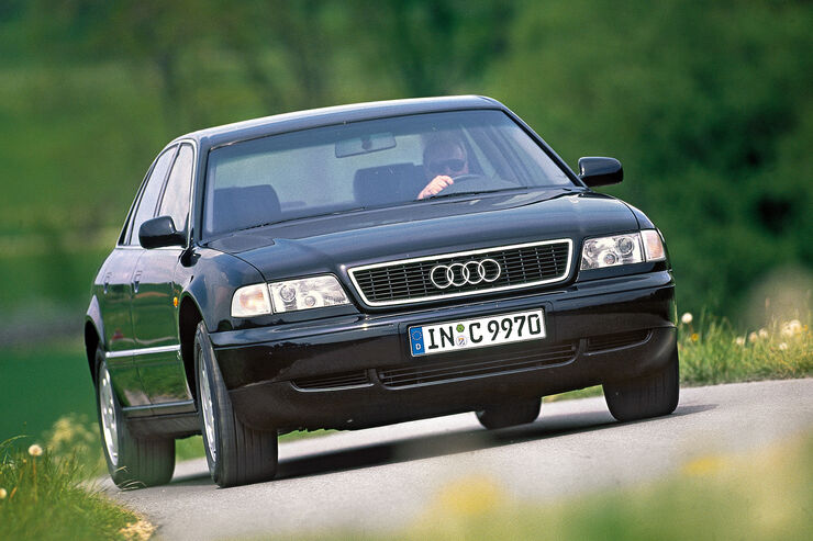 Audi A8 2.8, Frontansicht