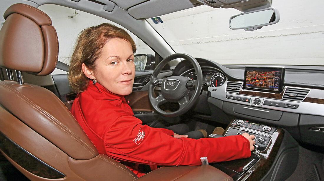 Audi A8 3.0 TDI Quattro, Birgit Priemer