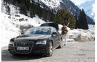 Audi A8 3.0 TDI Quattro, Schnee, Ausflug