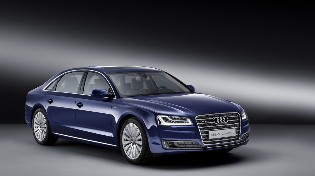 Audi A8 L W12 exclusive - Limousine - Langversion