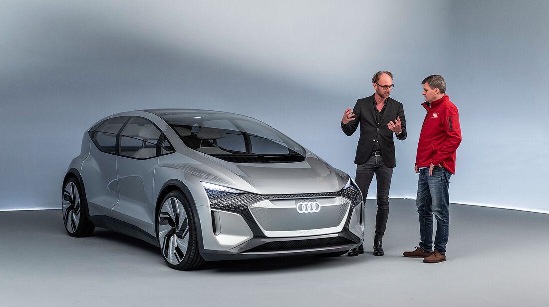 Audi AI:ME Concept Car Shanghai 2040