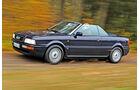 Audi Cabrio, Seitenansicht