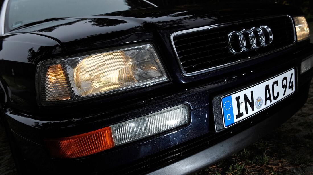 Audi Cabriolet 2.0E, Scheinwerfer