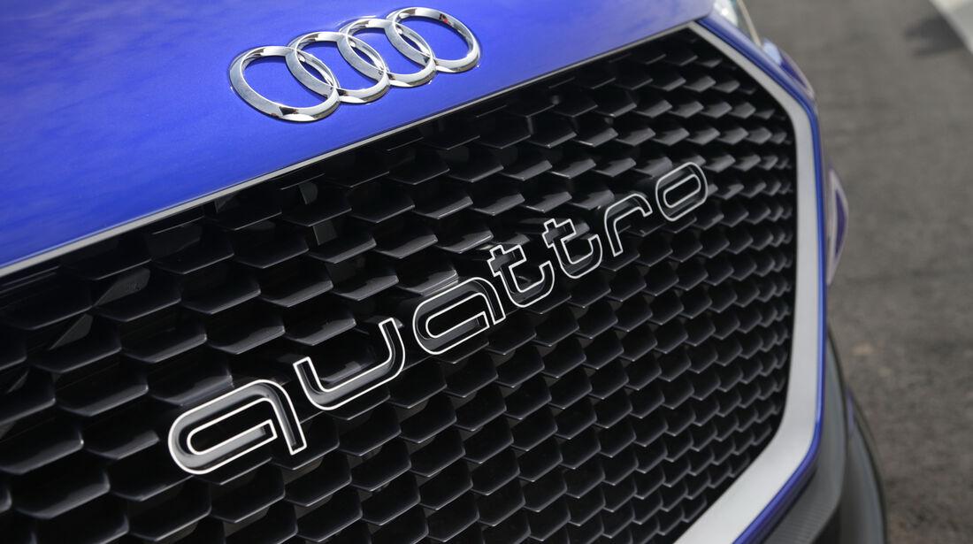 Audi Clubsport Quattro Concept, Kühlergrill