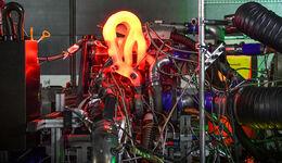 Audi - DTM 2019 - Motor - Vierzylinder-Turbo - Prüfstand