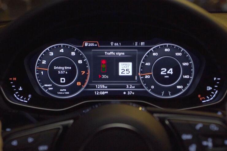 Audi GLOSA