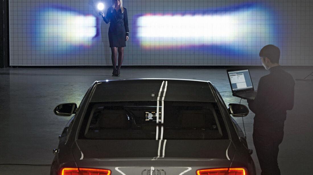 Audi, LED-Matrix-Licht