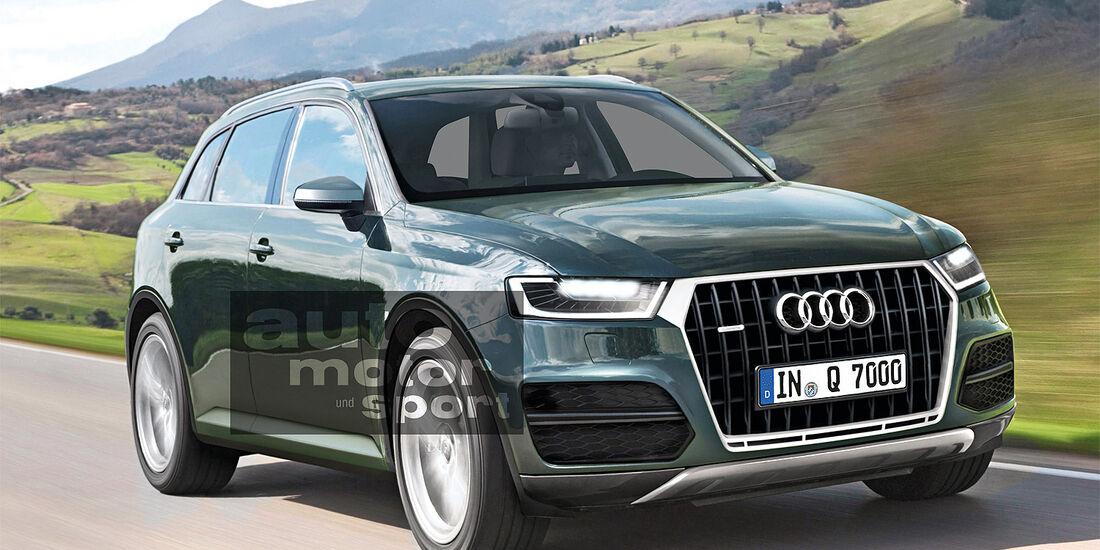 Audi, Neuheiten, Q7
