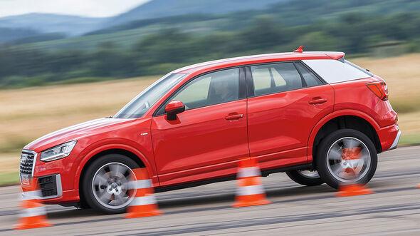 Audi Q2 1.4 TSI (GA), Außenansicht