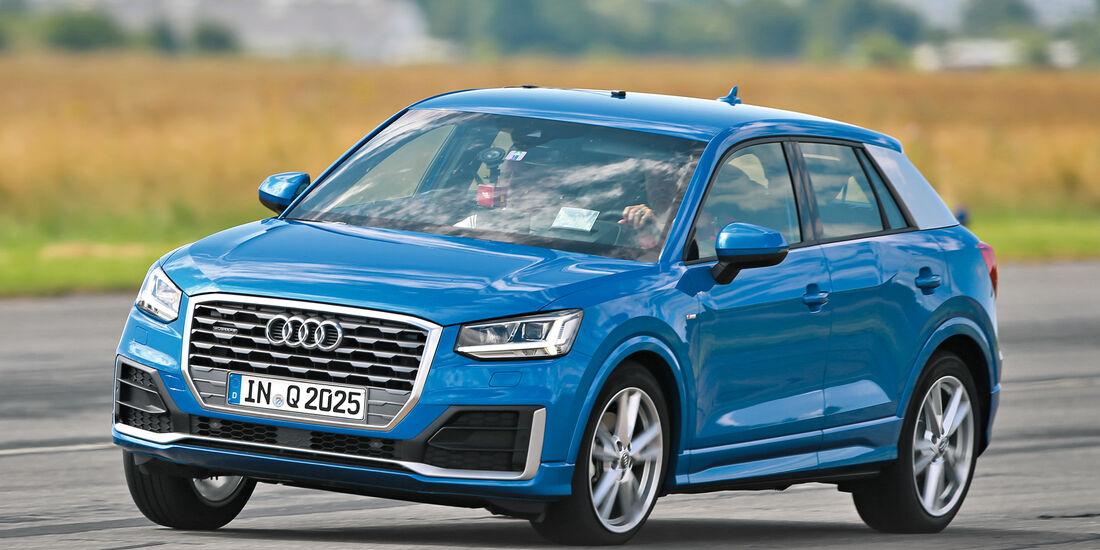 Audi Q2 2.0TDI Quattro, Frontansicht