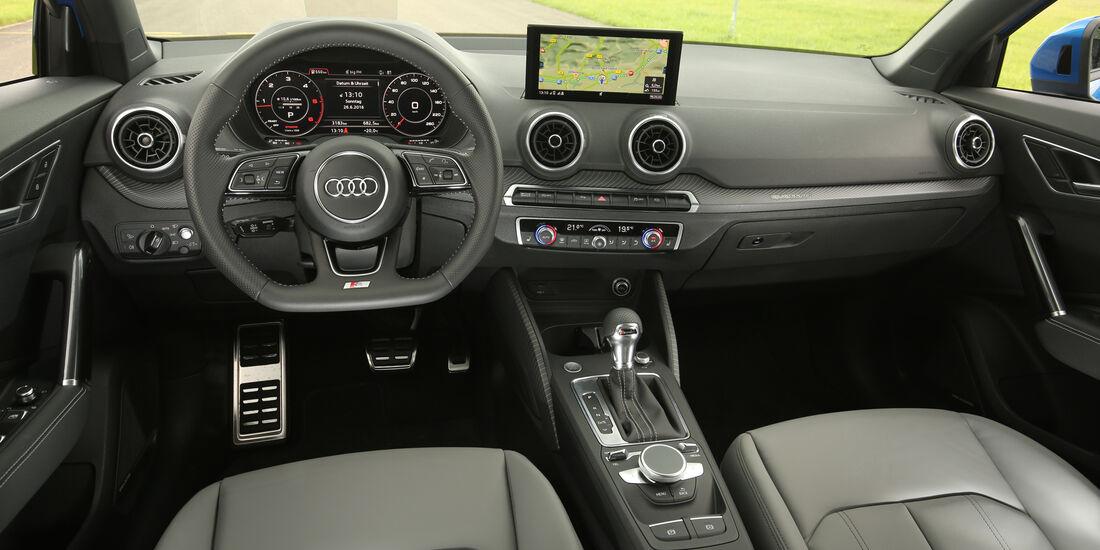 Audi Q2, Cockpit