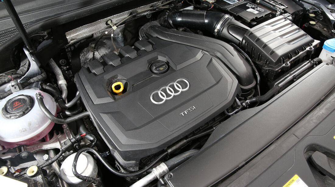Audi Q3 35 TSFI Advanced, Motorraum