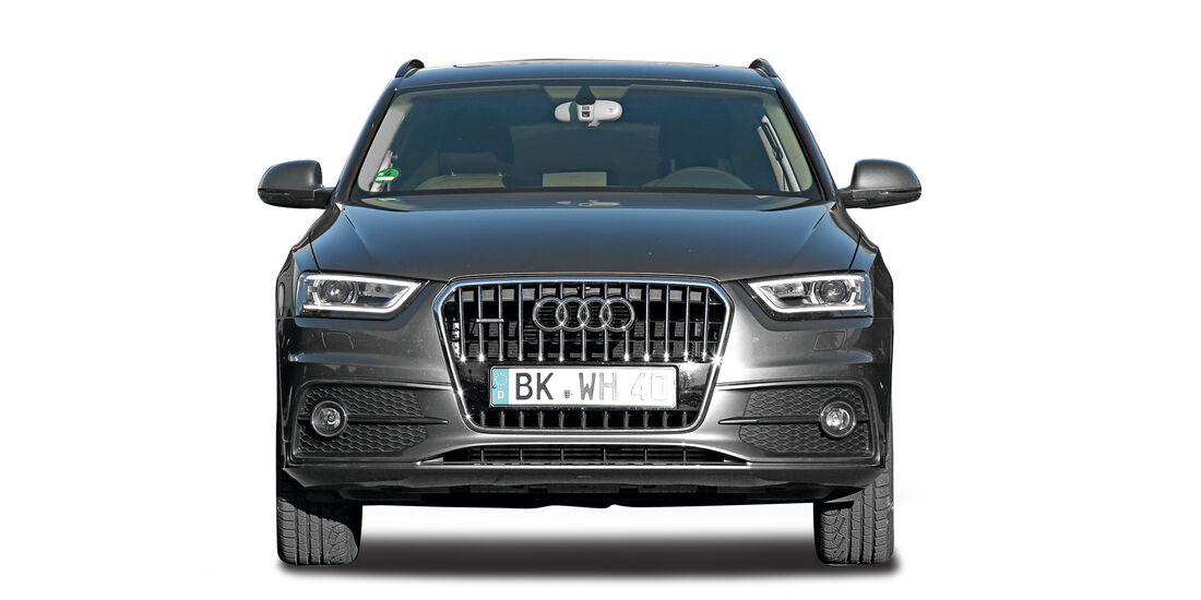 Audi Q3,  Abgastest auf der Straße, AMS2515