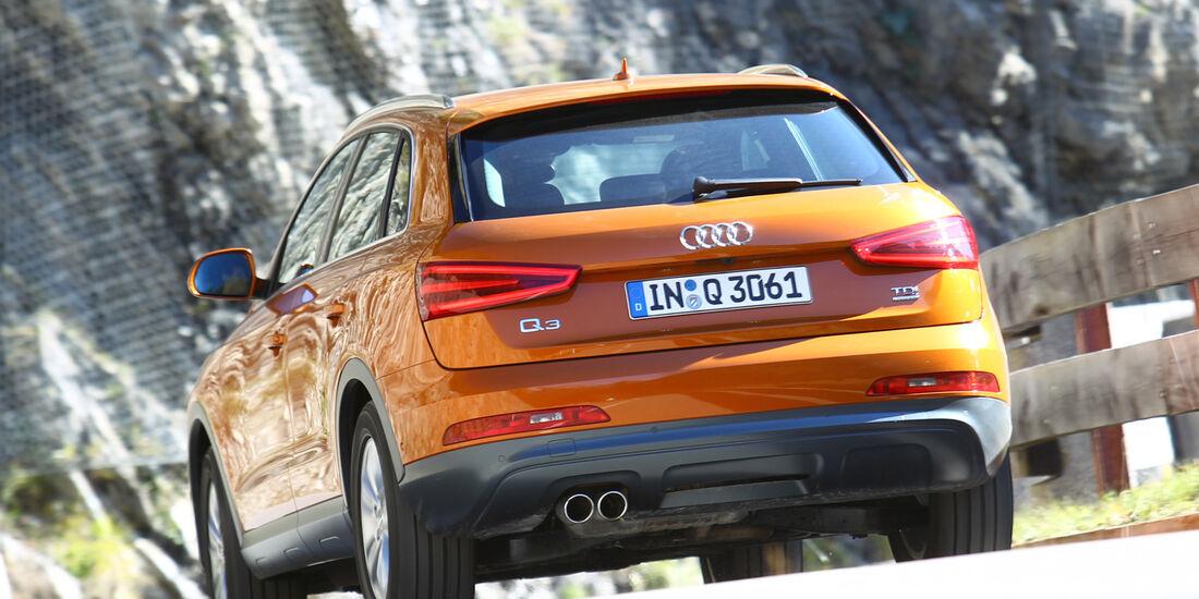 Audi Q3, Heckansicht