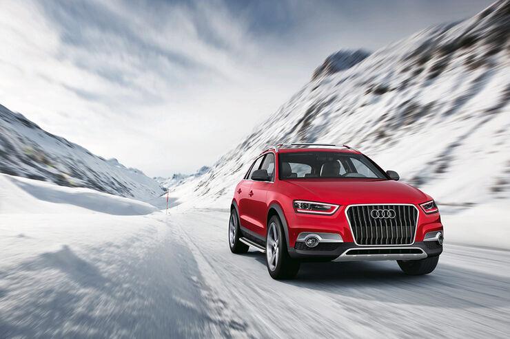 Audi Q3 Red Track