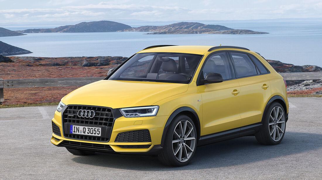 Audi Q3 S Line Competition Sondermodell