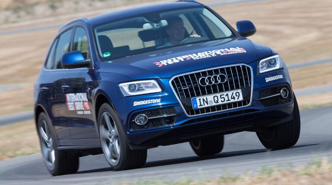 Audi Q5 2.0 TDI Quattro, Frontansicht