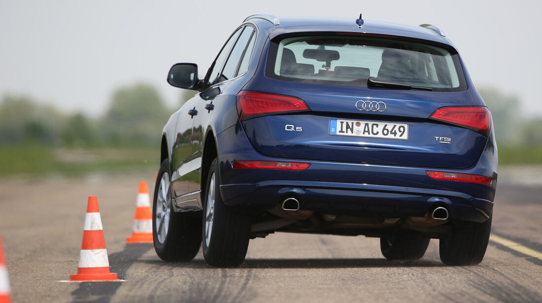 Audi Q5 2.0 TFSI Quattro, Heckansicht