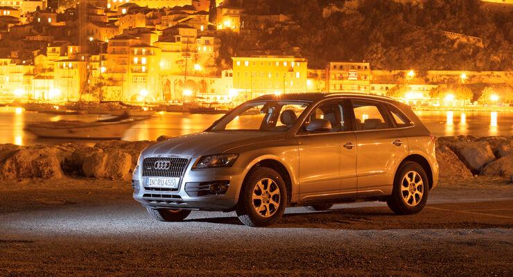 Audi Q5 2.0 TFSI Quattro, Seitenansicht, Hafen