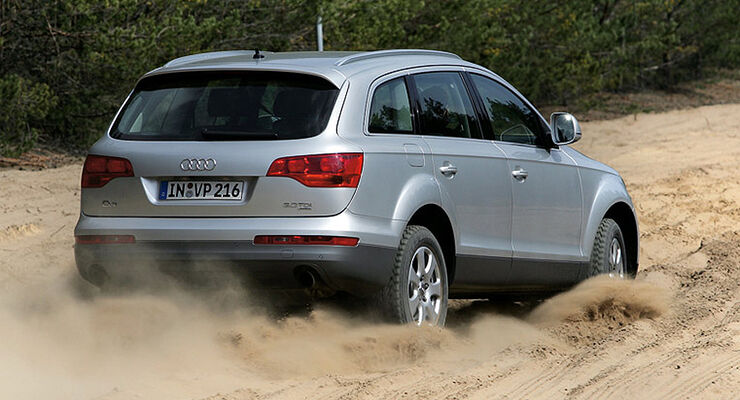 Audi Q7 3.0 TDI 4wheelfun-Supertest