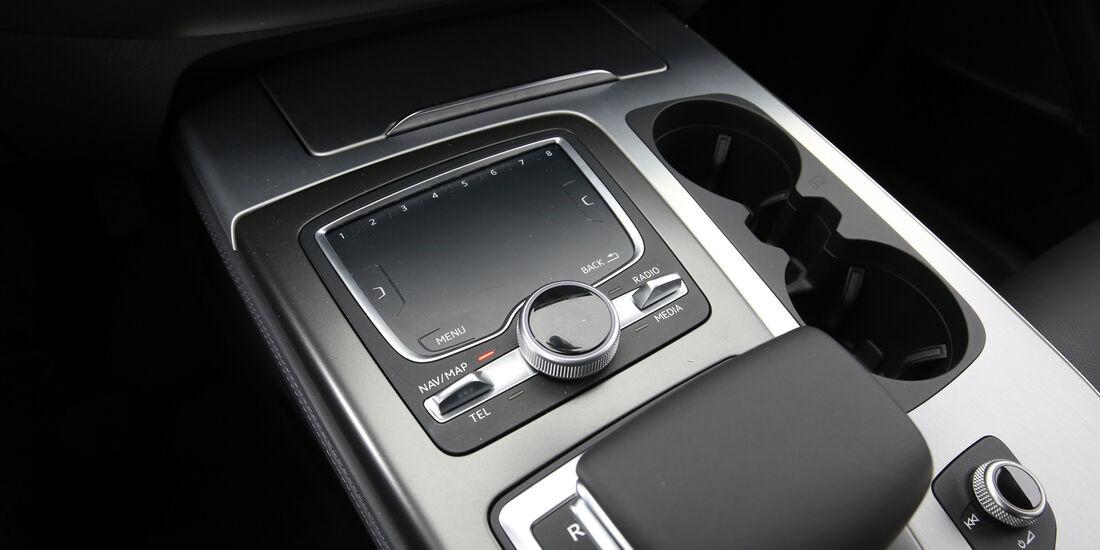 Audi Q7 3.0 TDI Quattro, Bedienelemente