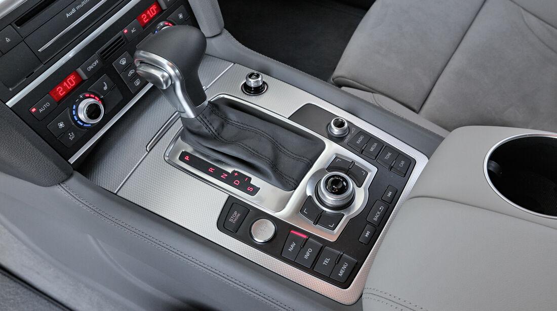 Audi Q7 3.0 TDI, Schalthebel