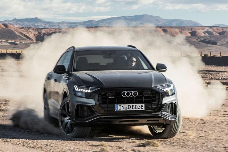 Audi Q8 Schwarz >> Audi Q8 (2018): Daten, Fotos und Marktstart des SUV-Coupé - auto motor und sport