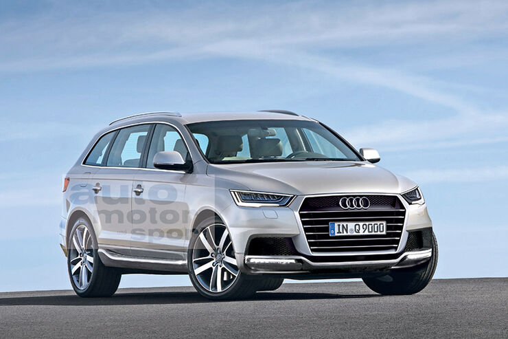 Audi Q9 - auto motor und sport