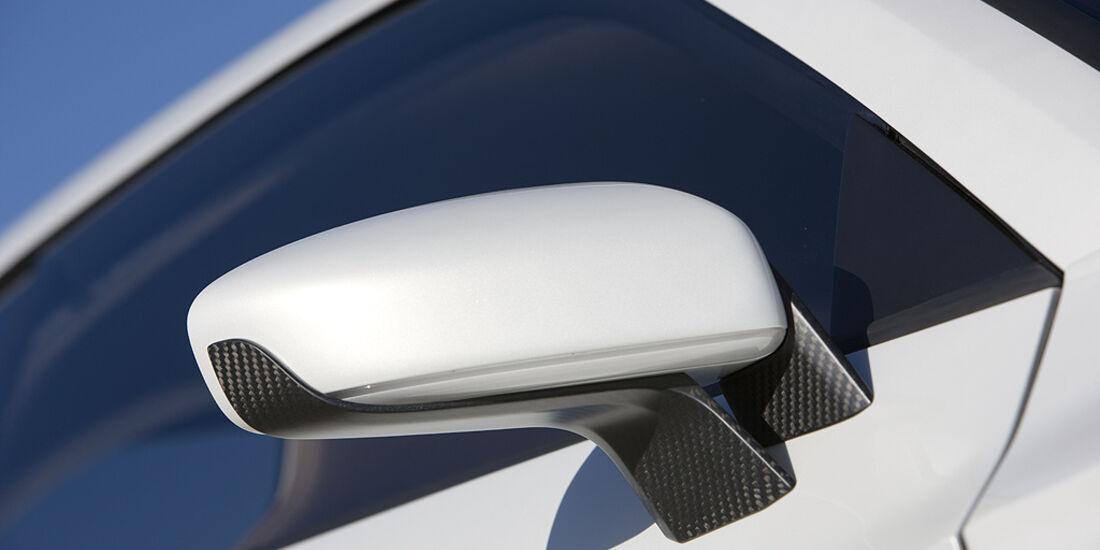 Audi Quattro Concept, Außenspiegel