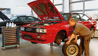 Audi Quattro, Hebebühne