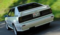Audi Quattro, Heck