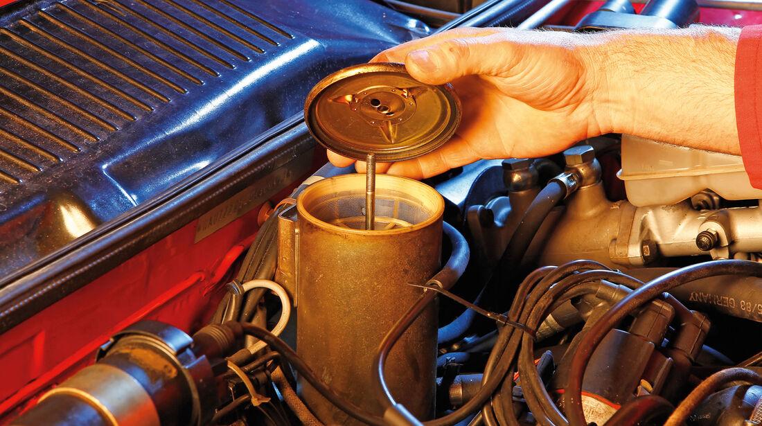 Audi Quattro, Klüssigkeitskontrolle