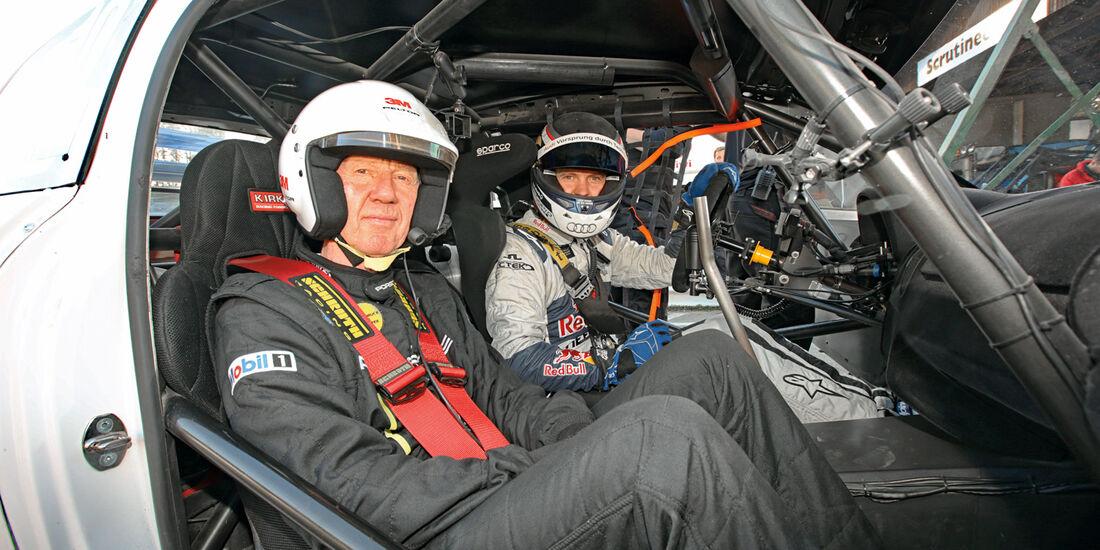 Audi Quattro S1, Mattias Ekström, Walter Röhrl, 30 Jahre, Impression