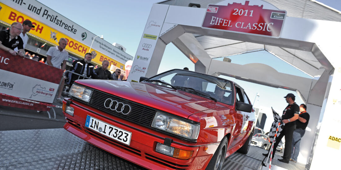 Audi Quattro, Thomas FRank