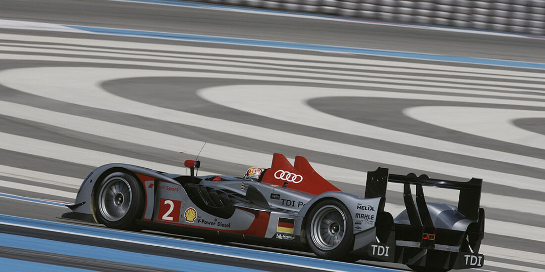 Audi R15 TDI Le Castellet