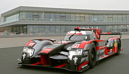 Audi R18, Frontansicht