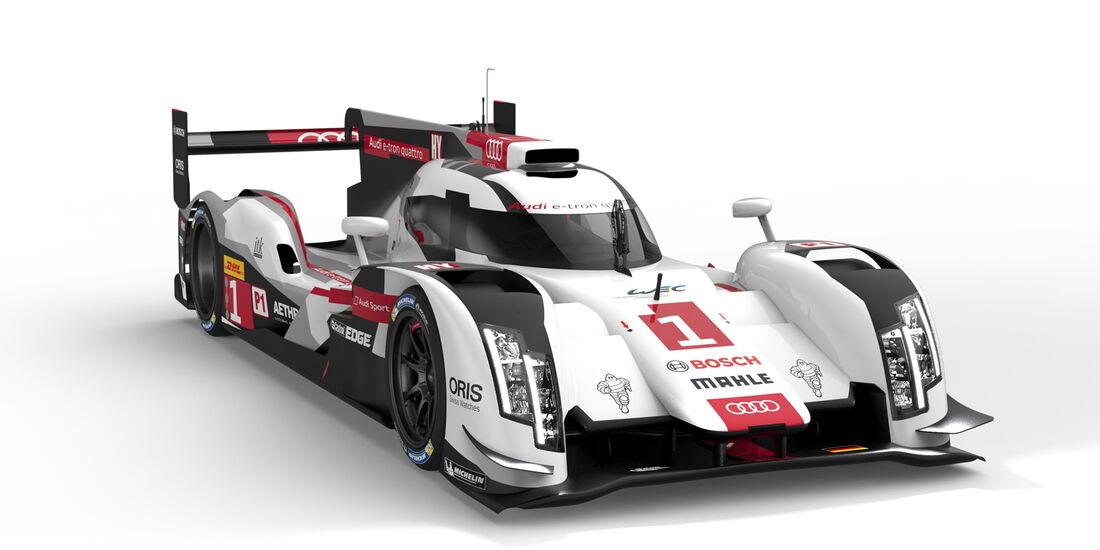 Audi R18 e-tron quattro - Le Mans-Präsentation 2014