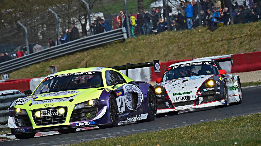 Audi R8 Busch - VLN 1 - Nürburgring Nordschleife - 29. März 2014