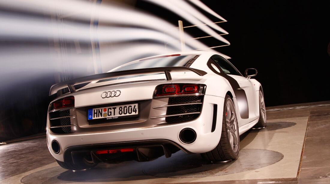 Audi R8 GT Windkanal