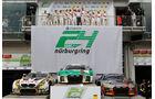 Audi R8 LMS (#29) - BMW M6 GT3 (#98) - Audi R8 LMS (#9) - 24h-Rennen Nürburgring 2017 - Nordschleife - Sonntag - 28.5.2017