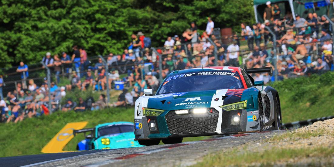 Audi R8 LMS - Startnummer #1 - 24h-Rennen Nürburgring 2018 - Nordschleife - Samstag 12.5.2018