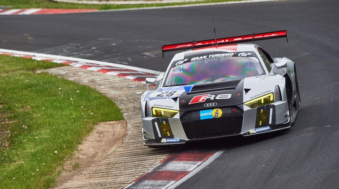 Audi R8 LMS - Startnummer: #28 -  24h-Nürburgring 2015 - Donnerstag