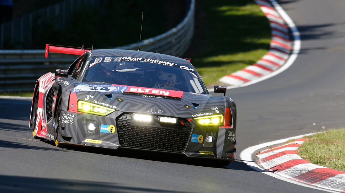 Audi R8 LMS - Startnummer #34 - 2. Qualifying - 24h-Rennen Nürburgring 2017 - Nordschleife
