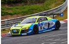 Audi R8 LMS ultra - Startnummer: #16 - Bewerber/Fahrer: Dennis Busch, Marc Busch, Manuel Lauck, Stefan Landmann - Klasse: SP9 GT3