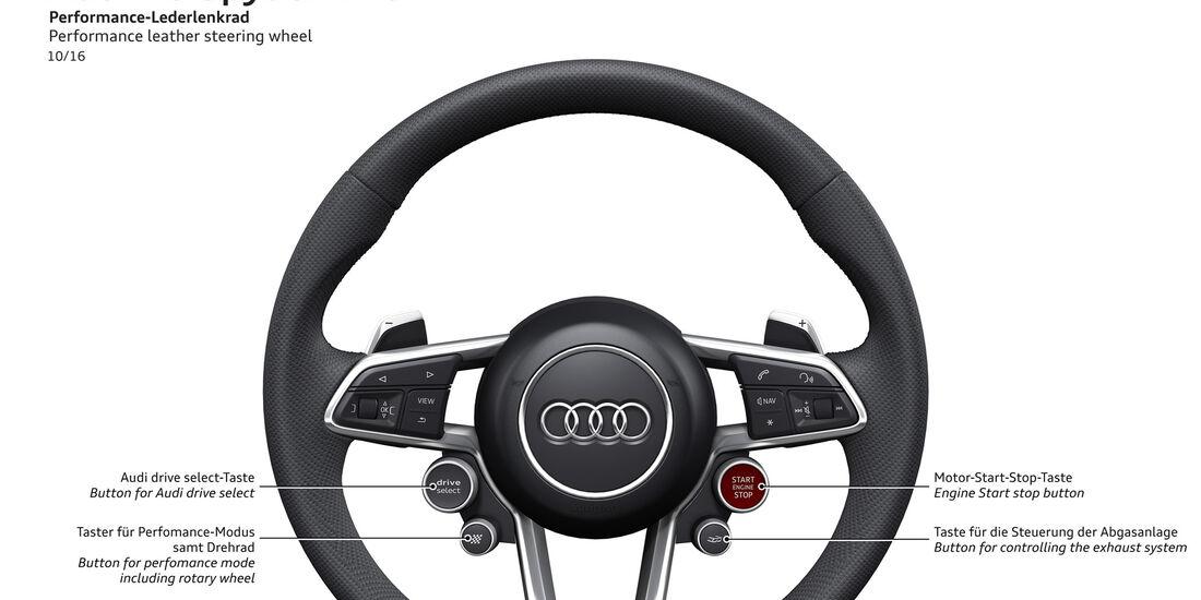 Audi R8 - Lenkrad